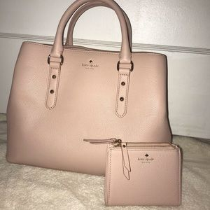 Kate spade Evangelie hand bag and wallet NWT